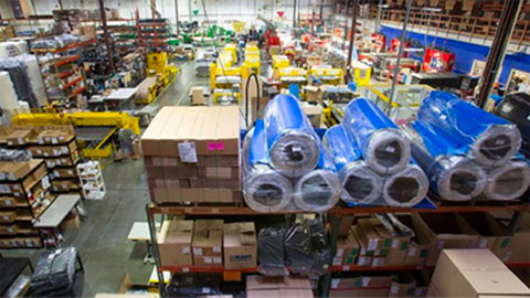 RAM Technologies warehouse